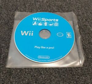 Nintendo Wii Sports (Nintendo Wii, 2006) Disk Disc ONLY Tested GREAT EUC