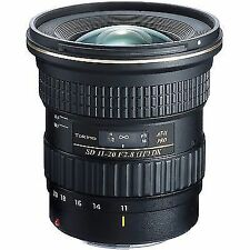 Canon EF Zoom Wide Angle Camera Lenses