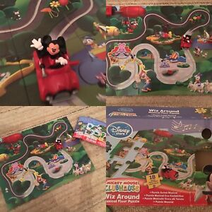 Mickey Mouse Clubhouse Jigsaw Complete With Wiz Around Mickey In A Car & Music