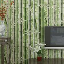 Green Bamboo Country Style Wallpaper 3D Room Mural Background Art Wall Rolls