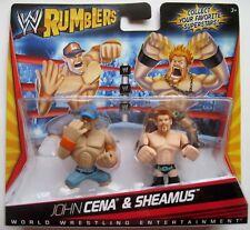 NEW WWE Rumblers John Cena & Sheamus Mini Figures  2-Pack Mattel