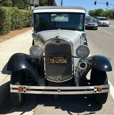 1930 MODEL A SEDAN. COMPLETELY STOCK, RUNS & DRIVES, GREAT CONDITION. HOT ROD.