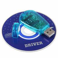 Practical Usb Cellphone Standard Sim Card Reader Copy Cloner Writer Cdma Driver