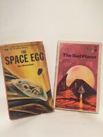 The Space Egg  & The Red Planet by Russ Winterbotham - Vintage SciFi paperback