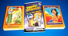 2018 Wacky Packages GO TO THE MOVIES Complete BRONZE Sticker Set + Wrapper