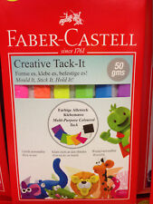 New Faber Castell Creative Tack It 50 Gram Pack With Multi Color Adhesive Putty