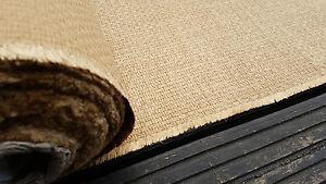 Upholstery Fabric Copper Brown Tweed Cotton Mix 10m Roll Boat Campervan Caravan