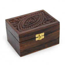 PROFESSIONAL SHEESHAM  WOODEN  BOX FOR 12 ESSENTIAL OILS