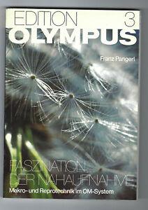 Franz Pangerl - Olympus, Edition 3, Faszination der Nahaufnahme, Topzustand