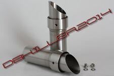 DB Killer, DB Eater für Akrapovic Aprilia 750 Dorsoduro 08-16 Auslass D38mm LAUT