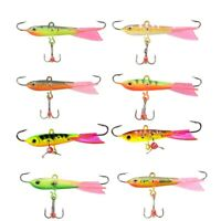 10G Balancers Winter Ice Fishing Lure 6.3Cm Ice Metal Jig Hard Sinking Minn S9V5