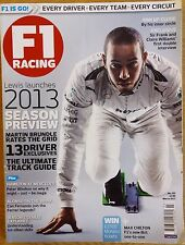 F1 RACING Magazine - 2013 SEASON PREVIEW - March 2013 - No.205.