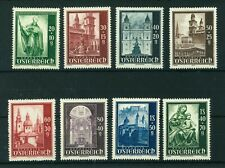 Austria 1948 Reconstruction of Salzburg Cathedral stamp Mint. Sg 1152-1159