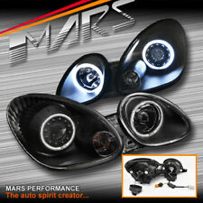 JDM Black CCFL Angel-Eyes Projector Head Lights for Lexus GS300 98-05 JZS160R