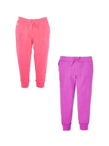 Ralph Lauren Girls Slim Cut Sweatpants