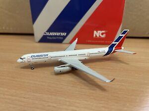 Cubana TU-204-100 1:400 (Reg CU-T1701) NG40001 NG Models