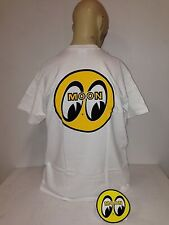 Mooneyes t-shirt Eyes white logo size XL 32 roadster hot rod ford
