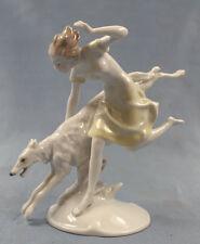 Barsoi Windhund Figur Hund Porzellanfigur Hutschenreuther hundefigur tutter,4