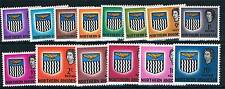 Northern Rhodesia 1963 Definitive set SG 75/88 MNH
