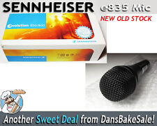 Sennheiser E835 Cardioid Microphone w/ Case - Vocals Guitar Percussion Wind  NEW