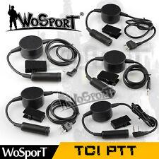Z Tactical TCI PTT Sordin Military Headset Adapter 1-2Pin Radio MT KW IC ML PH