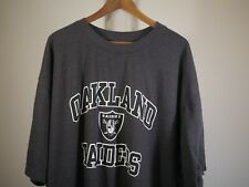 Oakland Raiders Men's Shirt 5XL NEW NFL Football
