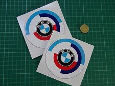 "2 x BMW M MOTORSPORT Stickers Car I Race M4 100mm (4"") Wide"