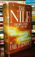 Ludwig, Emil THE NILE The Life-Story of a River 1st Edition 4th Printing