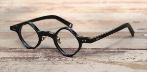 Unisex Handgemacht Rhombus Voller Rand Brillengestelle Saubere Linse Brille