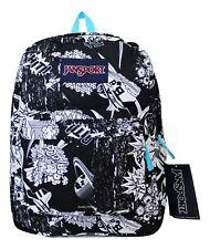 Jansport Superbreak Student Backpack Book Bag School Bag Comic SUPERHERO NEW ❤️