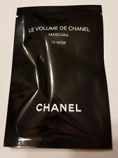 Chanel Le Volume De Chanel Black Mascara 10 Noir - 1 ml / 0.03 Fl. Oz. Sample Si