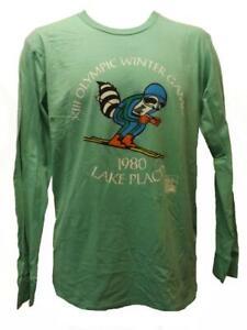 Lake Placid NY USA Winter Olympics 1980 Mens S-M-L-XL-2XL Licensed Shirt $35
