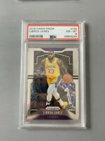 2019 Panini Prizm Lebron James #129 PSA NM-MT 8 - Lakers