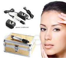 Auto Derma Pen Stamp Micro Needle Roller Anti Aging Skin Facial Beauty Machine