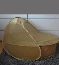 Samonsite pop up travel cot with soft mattress.