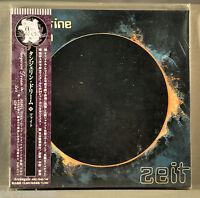 TANGERINE DREAM Zeit JAPAN Orig '05 2-Mini LP CD's Gtfd Insert OBI ARC-7048-49