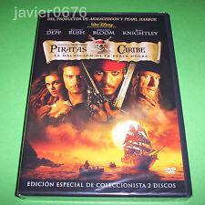 PIRATAS DEL CARIBE LA MALDICION DE LA PERLA NEGRA DVD NUEVO Y PRECINTADO