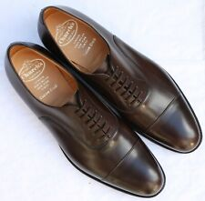 New & Boxed Church's 'Dubai' Oxford Dark Brown Shoes 9 UK 43 EU 10 US - G Wide