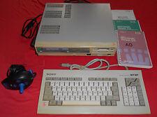 Ordinateur Sony MSX 2 HB-F700F + Konix Navigator + Manuels [Azerty] *JRF*