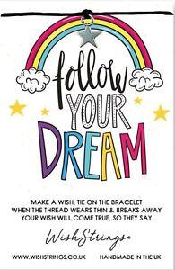 Wish Bracelet. Follow Your Dream. Handmade Gift For Friend, Daughter, Sister