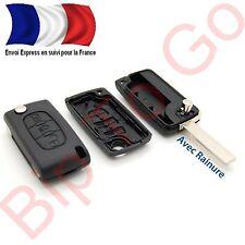 Coque plip Citroen 3 boutons phare CE0523 Picasso C2, C3, C4, C5, C6 C8