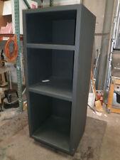 "Custom Black Design storage Design Furniture. Re-purpose 23""X24""X64"" 3 shelf"