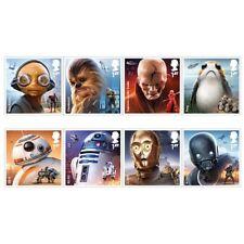 Great Britain 2017 - Star Wars Stamp Set mnh
