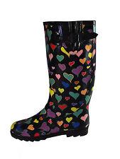 Women's Multi-Coloured Rubber Boots