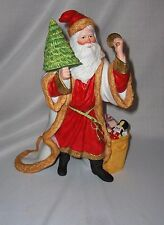 Lenox Fine Porcelain Kris Kringle Figurine 1991 Internatnal Santa Collection