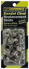HT Sandal Cleats Replacement Studs, 36 per pk, Ice Fishing Safety, Hiking SSR-36
