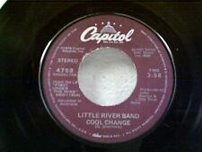 """LITTLE RIVER BAND """"COOL CHANGE / MIDDLE MAN"""" 45"""