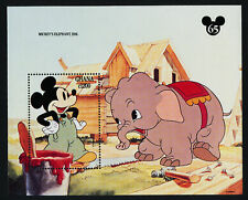 Unmounted Mint Never Hinged 1995 Walt-disney-f complete Issue 100% Quality Ghana Block267