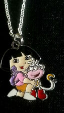 Dora the explora and Boots Charm pendant Necklace