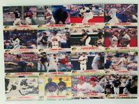 1997 Denny's LOT 3-D Holograms Alex Rodriguez, Jackie Robinson, Jeter and More!